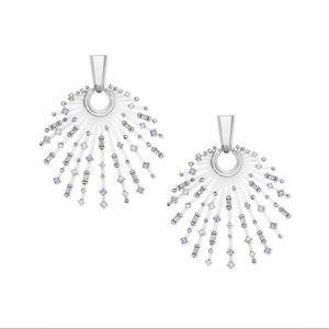 Kendra Scott Fabia earrings in silver